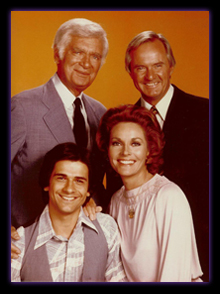 Lee Meriwether and the cast of Barnaby Jones